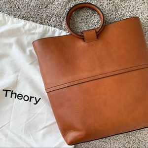 Theory Leather Bag - Never Used